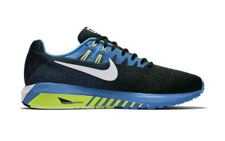 Nike AIR ZOOM STRUCTURE 20 NEGRO AZUL N849576 004