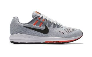 Nike AIR ZOOM STRUCTURE 20 GRIGIO PLATINO N849576 009