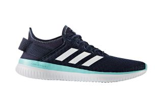 adidas neo CLOUDFOAM QTFLEX WOMAN BLUE WHITE AQ1618