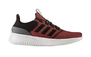 adidas neo CLOUDFOAM ULTIMATE BLACK RED CG5709