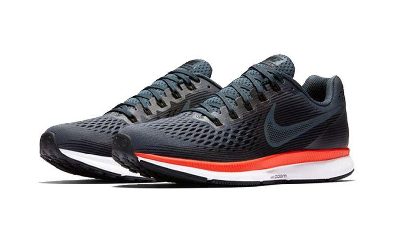 Nike Air Zoom Pegasus 34 Gris Rojo | Runners Neutros o ...