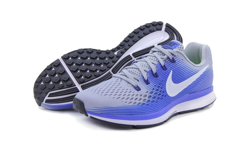 AIR ZOOM PEGASUS 34 GRIS BLANCO N880555 007