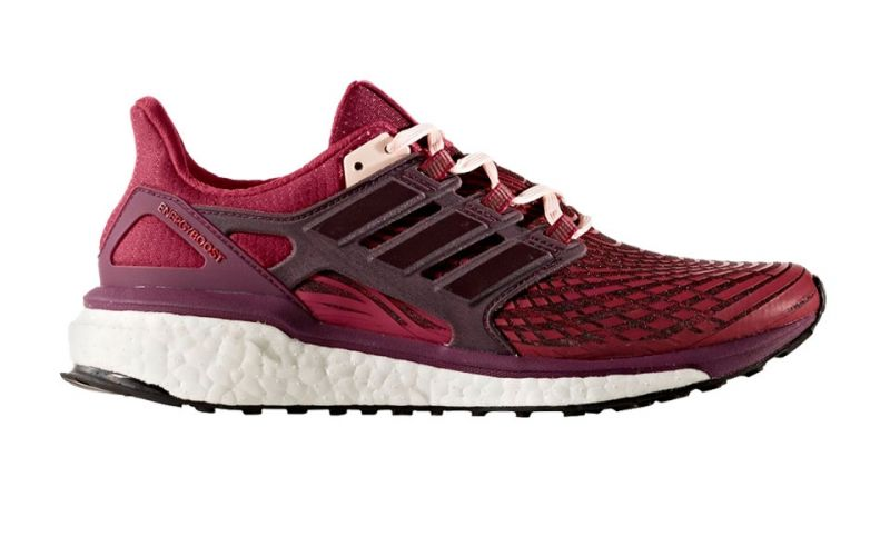 first look detailing classic styles ADIDAS ENERGY BOOST WOMEN RUBY