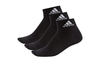 ADIDAS PACK 3 CALCETINES PERFORMANCE THIN CORTOS NEGRO