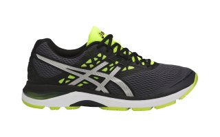 Asics GEL PULSE 9 GRIS AMARILLO T7D3N 9793