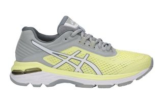 ASICS GT 2000 6 MUJER AMARILLO GRIS T855N 8501