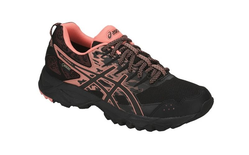 GEL SONOMA 3 GTX MUJER NEGRO CORAL T777N 9006