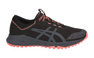 ASICS ALPINE XT NEGRO CORAL MUJER T878N 9097
