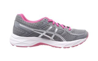 ASICS GEL CONTEND 4 GRIS ROSA MUJER T765N 1193