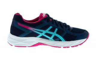 ASICS GEL CONTEND 4 AZUL FUCSIA MUJER T765N 5814