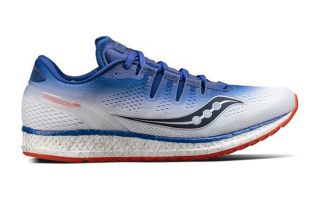 Saucony FREEDOM ISO BLUE WHITE S203555