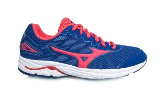 MIZUNO WAVE RIDER JUNIOR AZUL ROSA K1GC172560