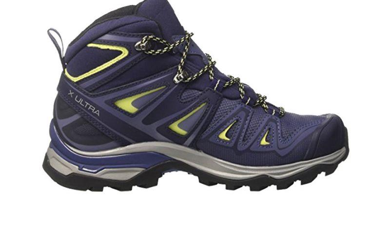 salomon x ultra 3 mid gtx femme mauve chaussures trekking filles. Black Bedroom Furniture Sets. Home Design Ideas