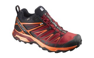 Salomon X ULTRA 3 GTX BLACK RED DALHI L39867000