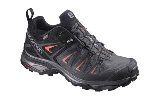 Salomon X ULTRA 3 GTX WOMENS BLACK MAGNETO L39868500