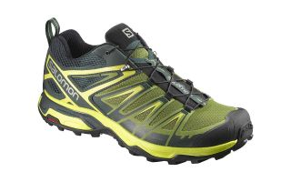 SALOMON X ULTRA 3 NEGRO AMARILLO  L39866600