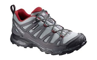 SALOMON X ULTRA PRIME CS WP GRIS ROJO L37922100