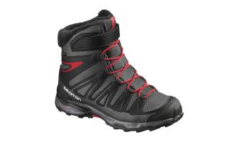 SALOMON X ULTRA WINTER GTX JUNIOR NEGRO ROJO L39186700