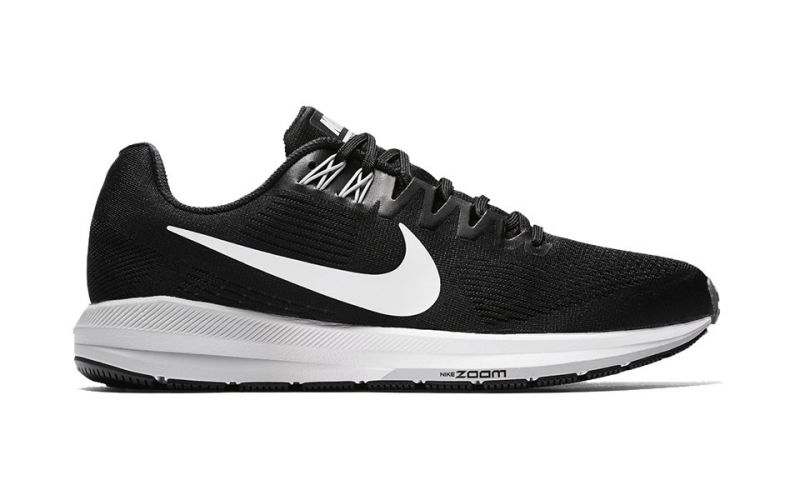 Air Zoom Structure 21 Negro Blanco N904695 001