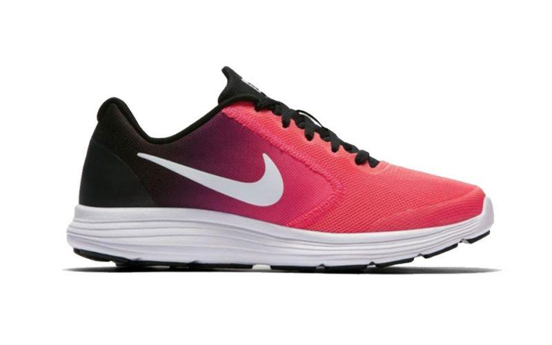 9910d5c121 Nike Junior Revolution 3 GS pink black | Kids running offers