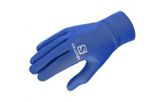 Salomon GUANTES AGILE WARM GLOVE AZUL