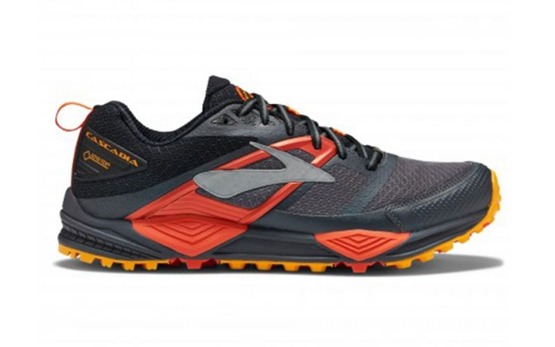 0f67695c0e0 BROOKS CASCADIA 12 GTX BLACK RED - Offer trail running shoes