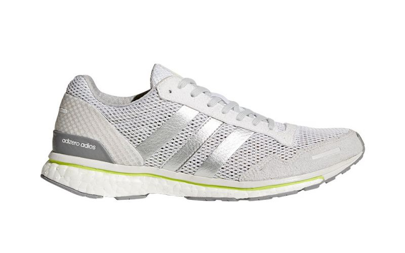 competitive price 3e416 14a85 ADIZERO ADIOS 3 MUJER BLANCO PLATA BY2782 ...