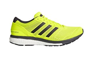 adidas ADIZERO BOSTON 6 JAUNE FLUO BB3320