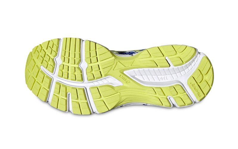 Inclinarse Visible Se infla  ASICS GEL OBERON 10 blue yellow white women | Comfort and cushioning