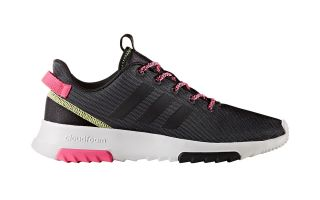 ADIDAS NEO CLOUDFOAM  RACER TR MUJER NEGRO BLANCO BC0055