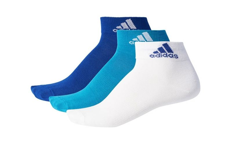 CALCETINES PER ANKLE 3 PARES AZUL BLANCO