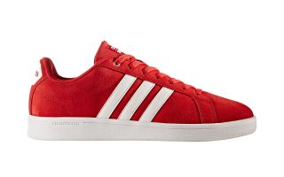 ADIDAS NEO CLOUDFOAM ADVANTAGE CL ROJO BLANCO BB9597