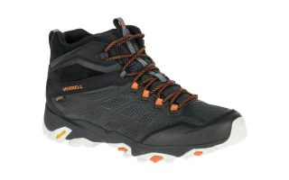 Merrell MOAB FST MID GTX BLACK ORANGE