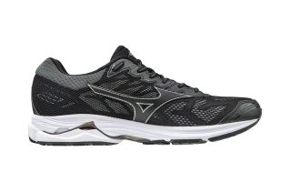 Mizuno WAVE RIDER 21 BLACK SILVER J1GC180309