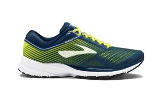 BROOKS LAUNCH 5 AZUL AMARILLO 1102781D430
