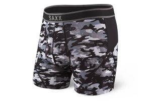 SAXX CALZONCILLOS BOXER KINETIC SHUTTER GRIS CAMO SXBB27.GRC