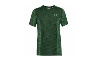 UNDER ARMOUR CAMISETA THREADBORNE SAMLESS SS VERDE ARENA UA1289596 701