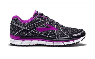 BROOKS ADRENALINE GTS 17 GRIS FUCSIA MUJER 120231 082