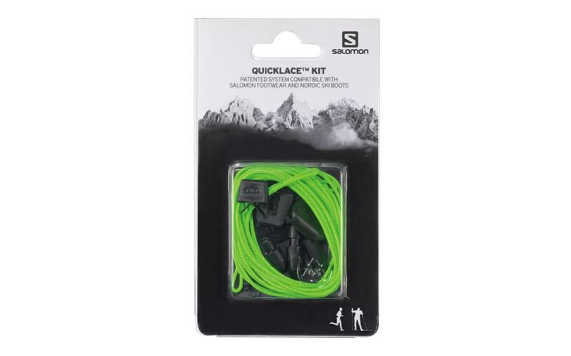 CORDONES SALOMON QUICKLACE KIT baratos VERDE Accesorios de calzado baratos KIT cb1e8c