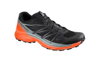 Salomon WINGS PRO 3 BLACK ORANGE 401471