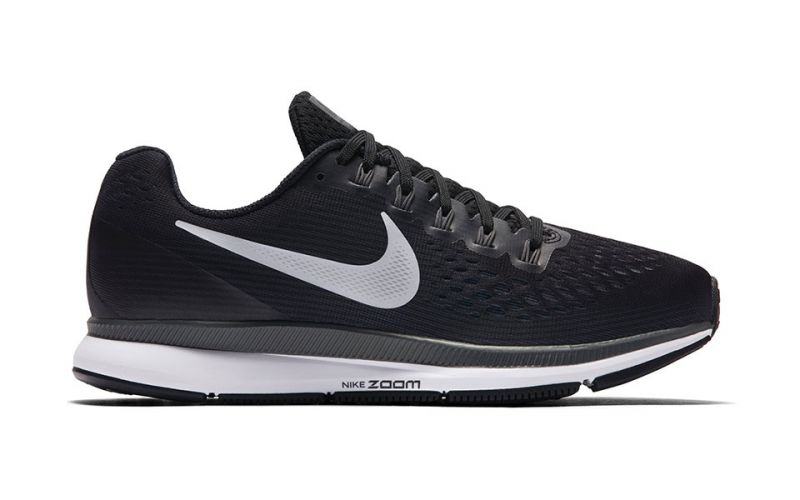 new concept 82012 8a7a4 Nike AIR ZOOM PEGASUS 34 WOMEN BLACK WHITE N880560 001