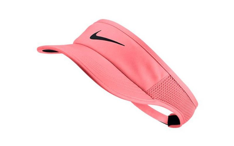 2203c02a8 VISERA NIKE COURT AEROBILL FEATHER LITE LAVA MUJER - ACCESSORIES