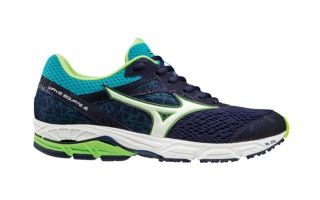 Mizuno WAVE EQUATE 2 NAVY BLUE GREEN J1GC184802