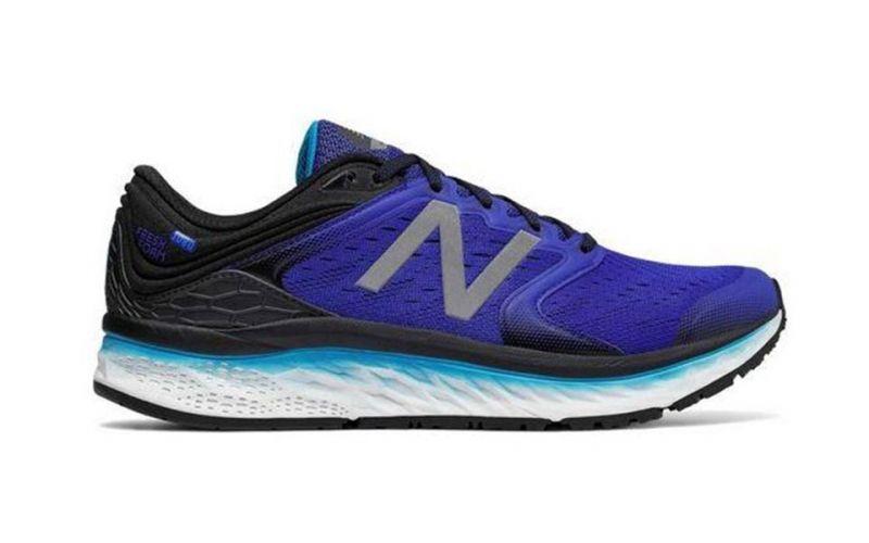 New Balance Fresh Foam 1080V8 Noir-Bleu marine - Chaussures Chaussures-de-running Homme