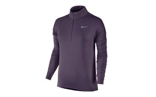 Nike CAMISETA MANGA LARGA DRI-FIT ELEMENT MORADO 855517 517