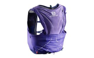 SALOMON MOCHILA ADV SKIN 12 SET PURPURA 401385