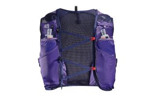 Salomon BACKPACK ADV SKIN 5 SET PURPLE 401396