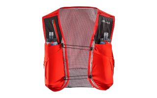 SALOMON MOCHILA SENSE LAB ULTRA 5 SET ROJO 401700