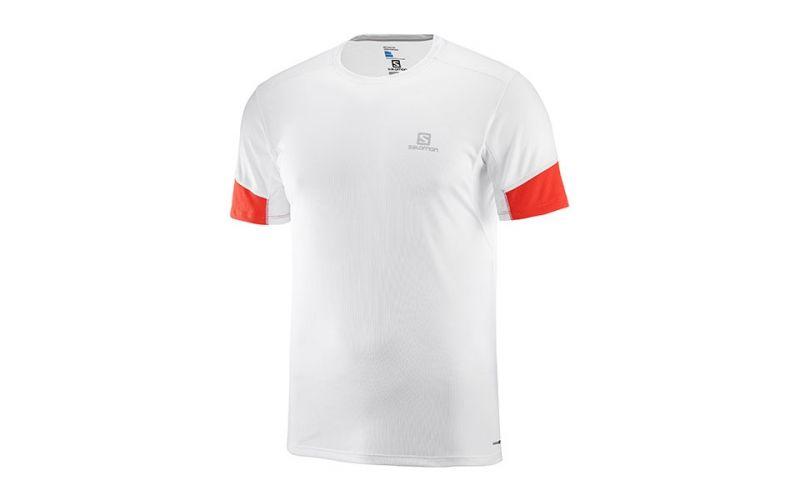 d1cc832200 Camiseta Salomon Agile SS Tee Blanco - Novedad en ropa deportiva