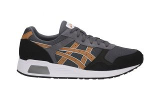 Asics LYTE TRAINER GRAY BLACK BROWN H8K2L 9721